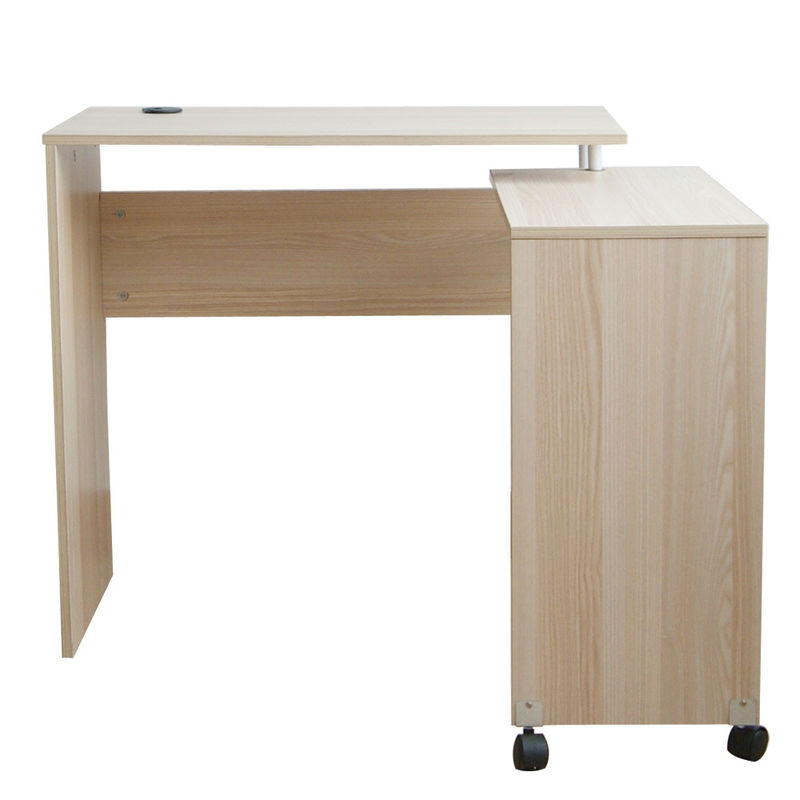 Corner Wooden Home Office Computer Desk Saving Space W80*D40*H75CM Scratch Resistant