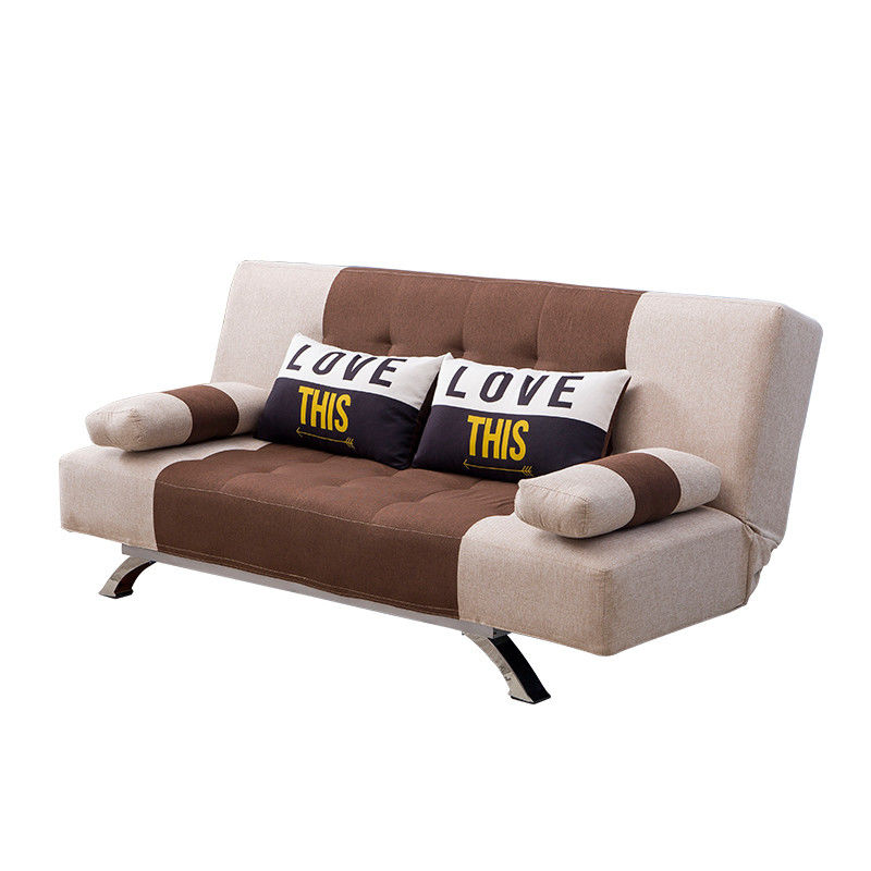 Versatile Sectional Home Sofa Bed With Stainless Steel Legs
